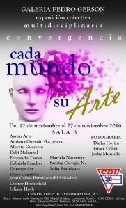 Inauguración exposición Galería Pedro Gerson