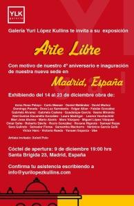 Inauguración de Galería Yuri Lopez en Madrid
