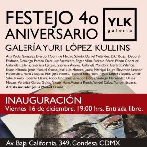 4to Aniversario Yuri López Kullins.