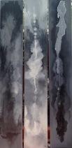 Ruta indeterminada. 240 x 35 cm. Mixts s/ policarbonato